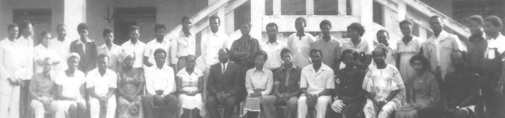 1978 academic staff group picture
