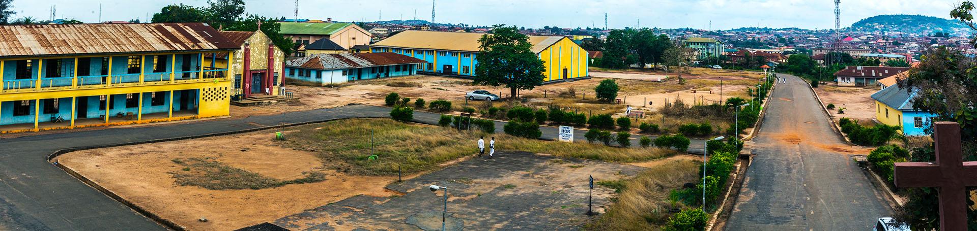 Aquinas College-Bishop Hughe_s Tower. Akure, Ondo, Nigeria