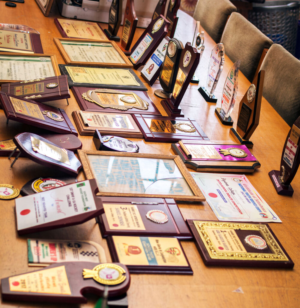 Past Awards and Trophies of Aquinas College Akure.