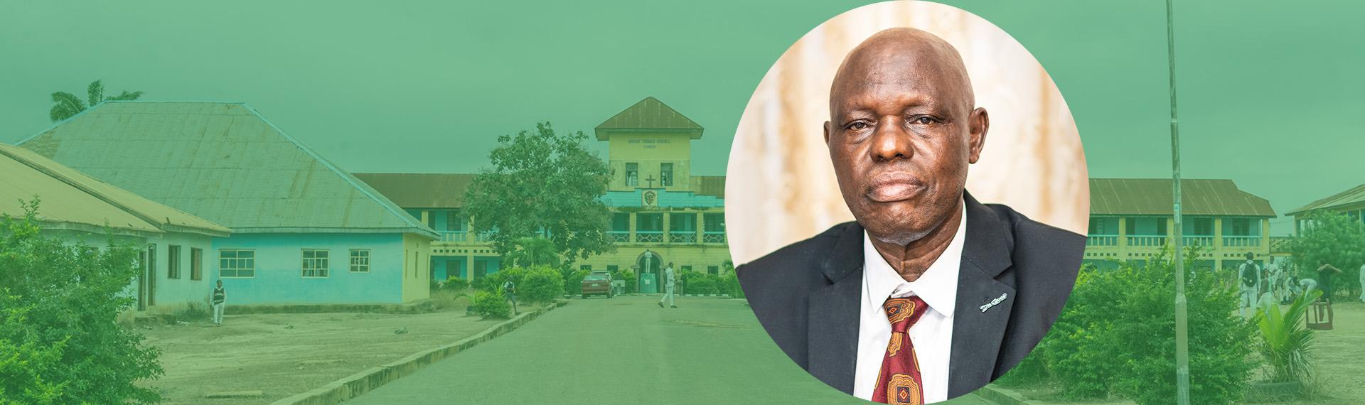 Afolabi Oni, the current (2020) ACA Principal